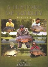 MAYLIN ROB CARP FISHING BOOK A HISTORY OF YATELEY VOL ONE I 1 hardback BARGAIN