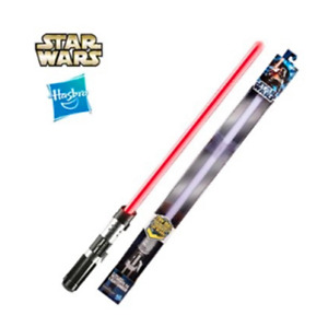 NEW HASBRO STAR WARS DARTH VADER ULTIMATE FX RED LIGHTSABER COSPLAY BOY TOY GIFT