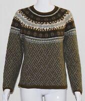 J. Jill Women's Sweater Size Small Long Sleeve Wool Cotton Blend Pullover