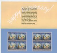 1988 JOINT ISSUE WITH NEW ZEALAND POP SET OF 2 BLOCKS 40C ,37C MUH