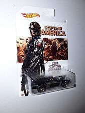 Neuf Hot wheels  MATTEL  2015 DJK76 The winter soldier Rivited - Captain America