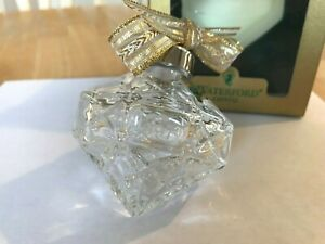 Waterford 1997 Crystal  Annual Ball Ornament MINT BOX 6TH Edition