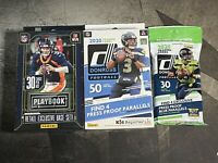 NFL sealed 2 Boxes and 1 Pack 2020 Playbook And Donruss