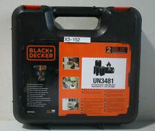 Black + Decker BDCDD12K1-QW Bohrmaschine Compact 10,8V orange (X3-152)