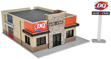 Walthers Cornerstone HO Scale Building/Structure Kit Dairy Queen Grill & Chill