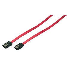 LogiLink 0,75 m SATA 3 6Gb/s High Speed Daten Kabel rot S-ATA 600 Clip CS0002