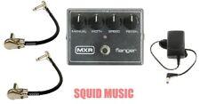 MXR Flanger Reissue Effects Pedal Metallic Grey M-117R ( 2 MXR CABLES ) M117R