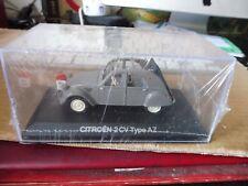 voiture 1/43 atlas Norev CITROËN 2 CV  type AZ grise- neuve film de garantie
