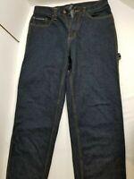 U.S. POLO ASSN. Mens Carpenter Jeans Dark Blue Size 32/32 100% Cotton Pre-owned