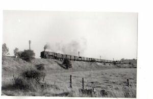 Rail Photo 9F 92139 nr Wingfield Derbyshire LMS MR Ambergate clay cross