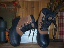OZARK TRAIL MENS WINTER BOOTS SIZE 7 TEMP RATED -5 BROWN MENS CASUAL SHOES NEW