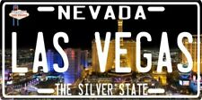 Las Vegas Nevada Souvenir Aluminum License Plate