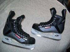 EASTON SYNERGY SYS2 ICE HOCKEY SKATES MENS SIZE 8 GREAT SHAPE GREAT PRICE NICE !