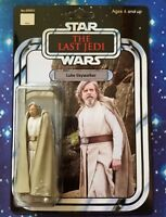 Custom Vintage Luke Skywalker Master Jedi Action Figure 3.75 Star Wars Hasbro