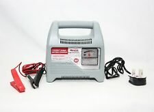 12V PORTABLE 12 VOLT 4 AMP CAR MOTORCYCLE VAN MOTOR HOME BATTERY CHARGER 81331
