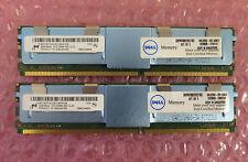 Dell 16GB (2x8 GB) Memory dell snpm788dck2 / 16G DDR2 ECC PC2-5300F 1950 2950 + OTH