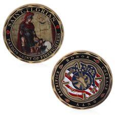 St. Florian Patron Saint Firefighters Fire Rescue Commemorative Coin Souvenir