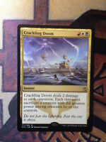 MTG Magic VO  Crackling Doom EX