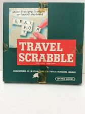Vintage Travel Scrabble Spears Games Complete Preowned (901D33)