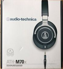 Audio-Technica ATH-M70x Closed-back Monitoring Headphones