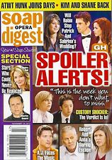 General Hospital, Winsor Harmon, Shawn Christian Nov. 25, 2013 Soap Opera Digest