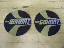 Vintage NOS Fox Go Kart Stickers
