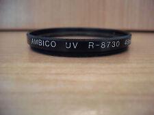 Entubado AMBICO Filtro UV R-8730 49MM EE. UU. (29A13)