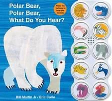 Polar Bear, Polar Bear What Do You Hear? sound book - Board book - Good