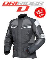 DRIRIDER APEX 4 motorcycle jacket NEW Sm to 6XL Motorbike Road Dry Rider Mens