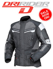 DRIRIDER APEX 4 motorcycle jacket NEW Sm to 6XL Motorbike Road Dry Rider Mens