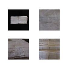 Drap de lit fil de lin art-déco vintage 1900 1920