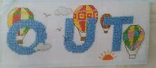 'Hot Air Balloon Abc' Cross Stitch Chart By Maria Diaz (M60)