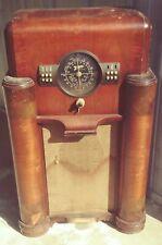 Antique Zenith Floor Console Radio 1940 Vintage