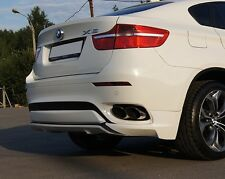 BMW X6 E71 Rear Bumper spoiler flaps skirt elerons M Power tuning M-Tech X6M X 6
