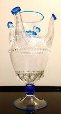 Vaso  5 bocche vetro di Murano Salviati RARISSIMO!