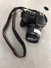 Canon EOS Rebel T6 Digital SLR Camera BODY AND LENS ONLY NO CHARGER