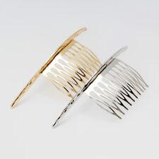 2Pcs Bent-Shape Hair Comb Clip Slide Pin Women's Hair Styling Accessory