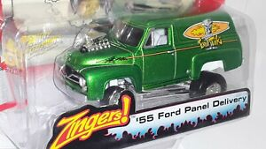 J/L- White Lightning -( Zinger's ) 55 Ford Panel Delivery , # 19, Green , 2004