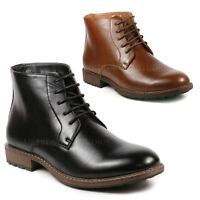 Metrocharm MC132 Men's Lace Up Dress Ankle Chukka Boots
