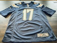 NFL San Diego/ LA Chargers Philip Rivers Men's Nike On Field Jersey-Size Medium