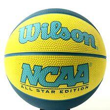"Wilson Ncaa Mini Basketball All Star Edition Yellow Blue 22"" Round"
