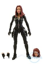 """Marvel Legends 6"""" Inch Mandroid BAF Wave Black Widow Loose Complete"""