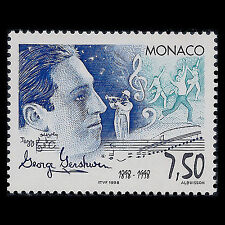 Monaco 1998 - 100th Anniv Birth of George Gershwin Composer - Sc 2092 MNH