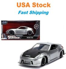 "Fast And Furious Gisele's Nissan 370 Hardtop, JADA Diecast Toy Car 5"", 1:32 NIB"