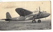 DB40. Vintage Small Postcard.  Airplane with a type A-1-Roundel?