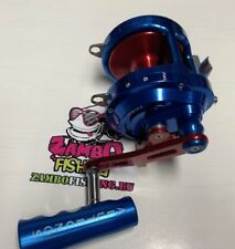 Mulinello Traina Alutecnos Albacore Gorilla 20 V Big game BLUE Rosso