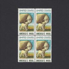 Sheep & Ewe - America's Wool - Vintage Mint Set of 4 Stamps 48 Years Old!