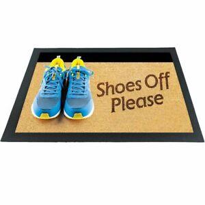 Witzige Fußmatte Schuhe aus 3D-Motiv bunt 60x40x04 cm Haushalt & Wohnen
