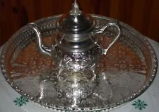 Moroccan Tea Serving Tray Set 1 Teapot 1 Tray *NEW*