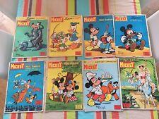 200 magazines mickey de 1963 a 1971
